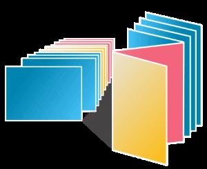 Impression rapide flyers, dépliants, affiches, cartes de visite, brochures, catalogues, calendriers